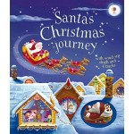Santa's Christmas Journey with Wind-Up Sleigh - Wind-Up Books - Книга на английски език