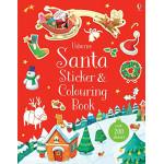 Santa Sticker and Colouring Book