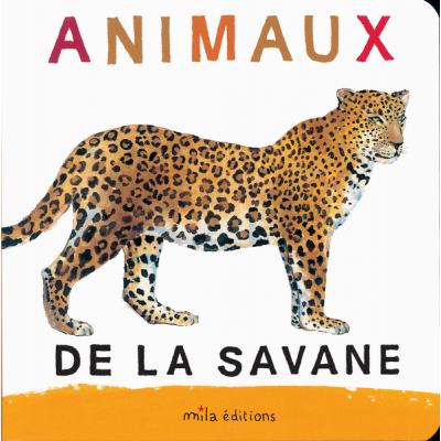 Animaux de la savane Album - Животните в саваната