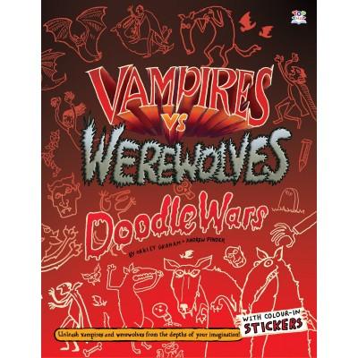 Vampires vs Werewolves - Книга на английски език