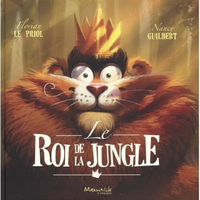 Le roi de la jungle - Кралят на джунглата - Книга на френски език
